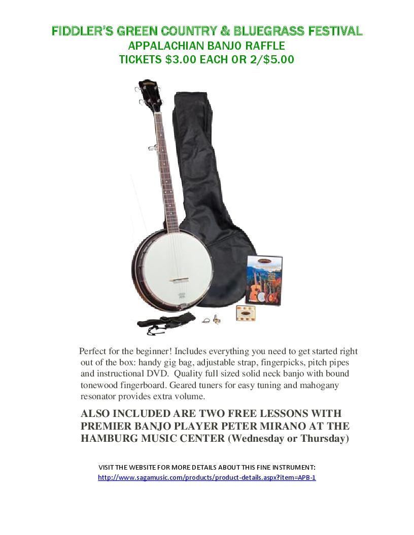 Banjo Raffle-1
